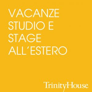 VACANZE STUDIO E STAGE ALL'ESTERO